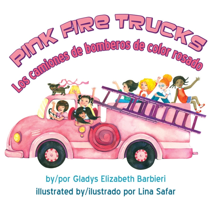 pink fire trucks
